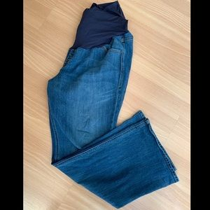 Old Navy Full Panel Flare Maternity Jeans